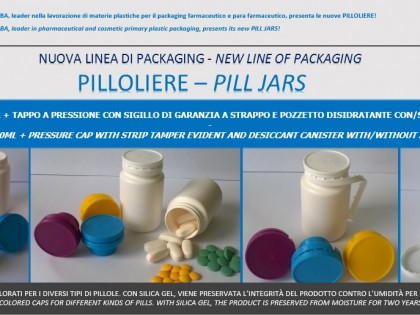Newsletter PHABA 06 2016 – New line of packaging: PILL JARS!