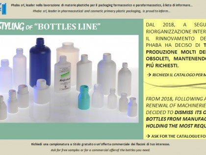 "Restyling ""Bottle"" line"