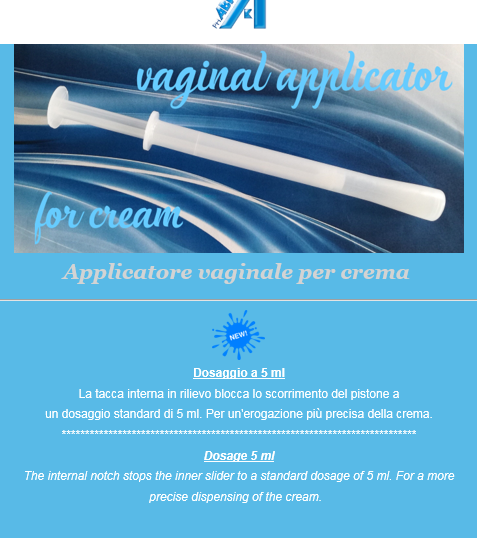 Newsletter Phaba – applicatori vaginali