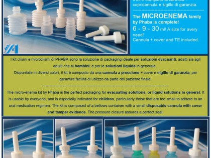 Newsletter Luglio 2021 – Microclismi